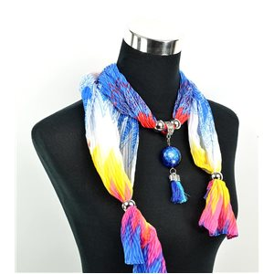 Polyester Jewelry Scarf Spring Collection 2017 70957