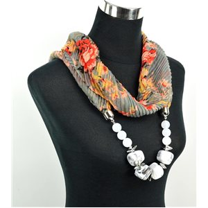 Polyester Jewelry Scarf Spring Collection 2017 71023