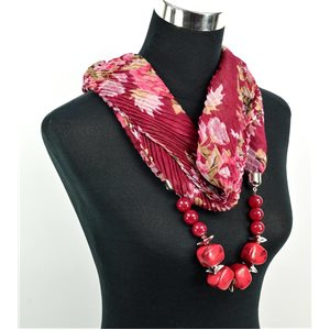 Polyester Jewelry Scarf Spring Collection 2017 71024