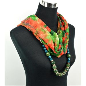 Polyester Jewelry Scarf Spring Collection 2017 71028