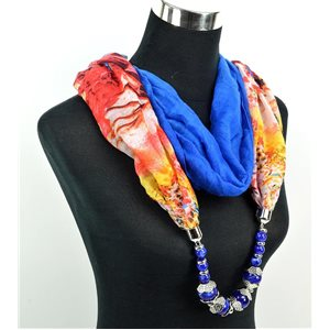 Foulard Bijoux polyester Collection 71035