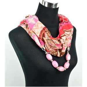 Foulard Bijoux polyester Collection 71052