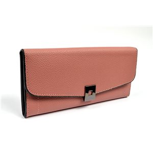 Women's Wallet soft grained look L19cm H9cm New Collection Classic 72483
