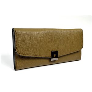Women's Wallet soft grained look L19cm H9cm New Collection Classic 72484
