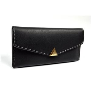 Women's Wallet soft grained look L19cm H9cm New Collection Classic 72494