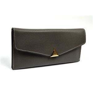 Women's Wallet soft grained look L19cm H9cm New Collection Classic 72495
