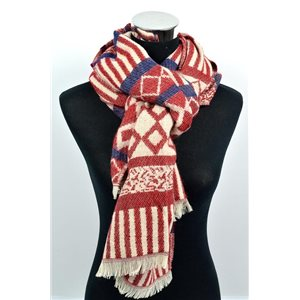 Winter Scarf for Women 100% Acrylic 70cm * 190cm 250gr New Collection 72392