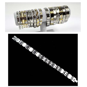Stainless Steel Bracelet L21.5cm Steel Color New Collection 72770