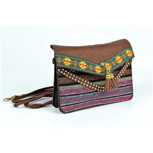 Embroidered Ethnic Womens Pocket H13-L19cm New Collection 73338
