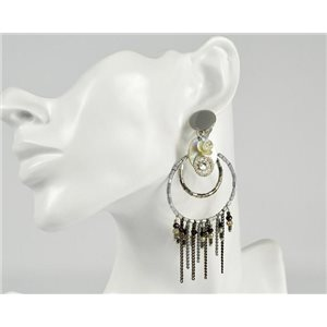 1p Earrings Clip ATHENA New Collection Summer 73389