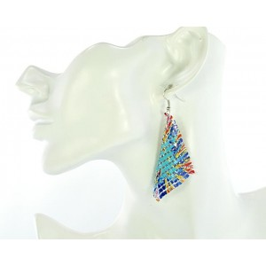 1p Ears Mesh Earrings Disco 66136