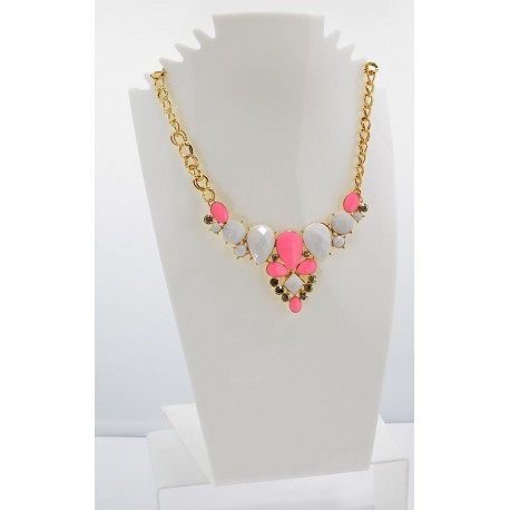 Email Creation necklace ATHENA Princess and Strass 62147