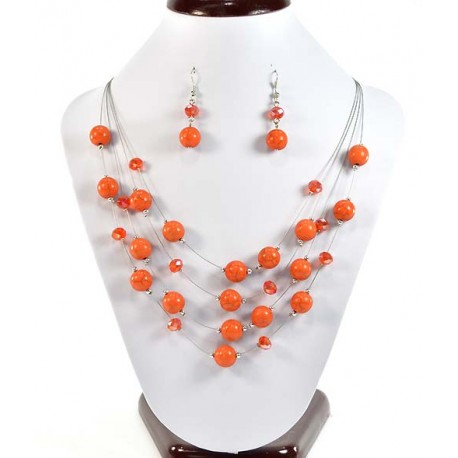 Finery Suspension 4 Rank Beads and Jewelry 58233