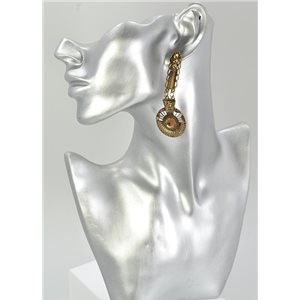 1p Boucles Oreilles Mode Vintage Collection 68044