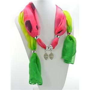Scarf Necklace Jewelry Viscose Spring Summer Collection 2016 68415