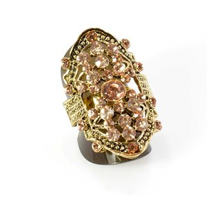 Bague Strass réglable Full Strass GOLD Vintage Collection 67906