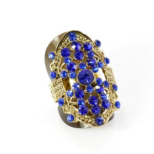 Bague Strass réglable Full Strass GOLD Vintage Collection 67907