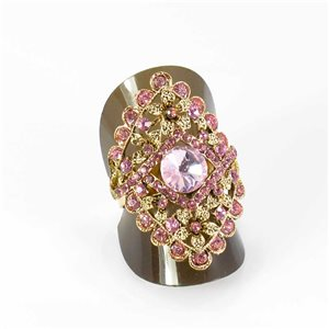 Bague Strass réglable Full Strass GOLD Vintage Collection 67956