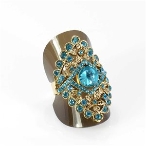 Bague Strass réglable Full Strass GOLD Vintage Collection 67959