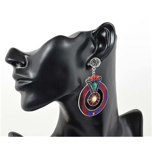1p Earrings ATHENA TOP Ethnic Collection Summer 69408