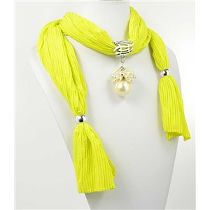 polyester scarf necklace jewelry new collection 2017 70942