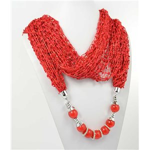 Collier Foulard Bijoux Polyester New Collection 70936