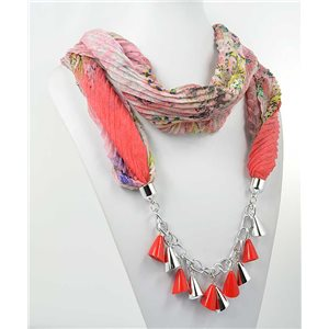 Collier Foulard Bijoux Polyester New Collection 70976