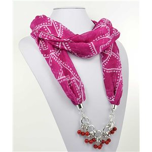 Collier Foulard Bijoux Polyester New Collection 70984