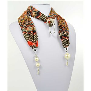 polyester scarf necklace jewelry new collection 2017 70997