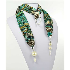 polyester scarf necklace jewelry new collection 2017 70998