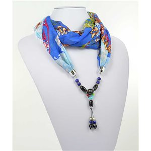 Collier Foulard Bijoux Polyester New Collection 71002