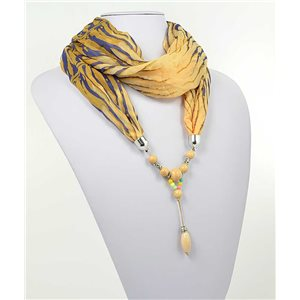 Collier Foulard Bijoux Polyester New Collection 71006