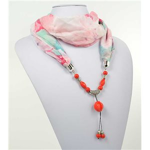 Collier Foulard Bijoux Polyester New Collection 71011