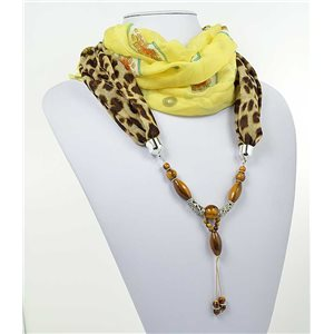 Collier Foulard Bijoux Polyester New Collection 71015