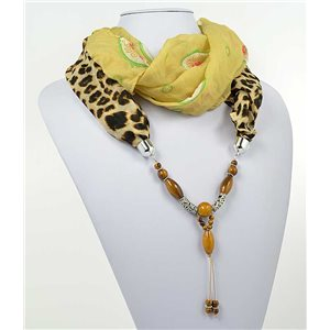 Collier Foulard Bijoux Polyester New Collection 71016