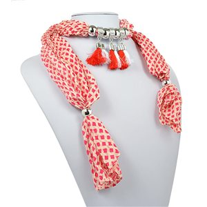 Collier Foulard Bijoux Polyester New Collection 70949