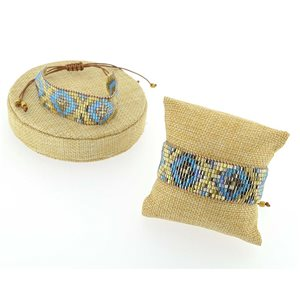 Bracelet Cuff Bracelet of Japanese Pearls New Collection Ethnic 71748