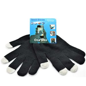 1p SmartPhone Tactile Stretch Glove One size 59566