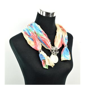 Polyester Jewelry Scarf Spring Collection 2017 70952
