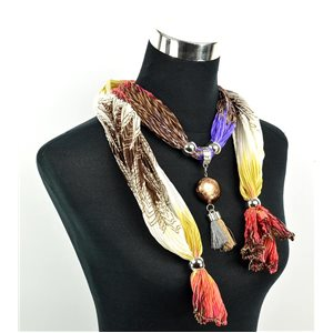 Foulard Bijoux polyester Collection 70959