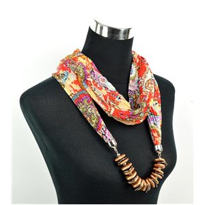 Polyester Jewelry Scarf Spring Collection 2017 70961