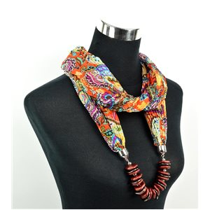 Polyester Jewelry Scarf Spring Collection 2017 70963