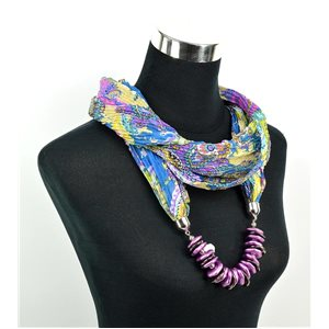 Polyester Jewelry Scarf Spring Collection 2017 70964