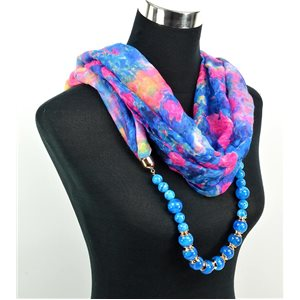 Polyester Jewelry Scarf Spring Collection 2017 71027