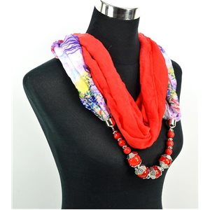 Foulard Bijoux polyester Collection 71033