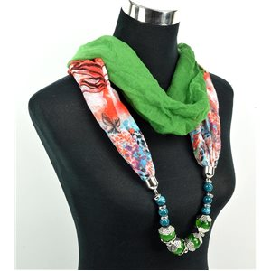 Polyester Jewelry Scarf Spring Collection 2017 71037