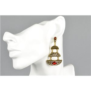 1p Stud Earrings ATHENA New Ethnic Collection 73440