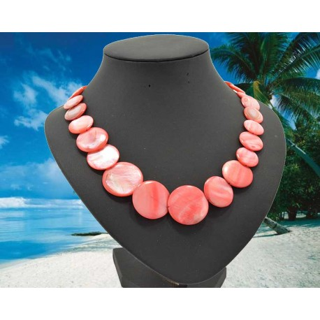 Pearl Necklace Jewelry varnish L50cm 62090