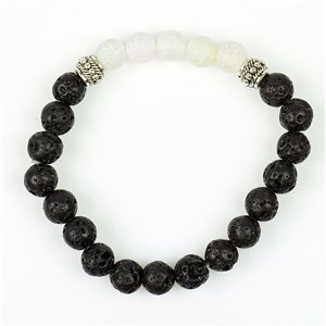 Tibetan Natural Stone Bracelet Collection 5 Upper Chakras 76124