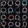 Bracelet CYBELE Jewelry Bead Charms on elastic thread New Collection 76137